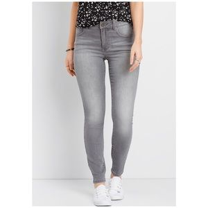 Maurices Gray Sequin Jeans